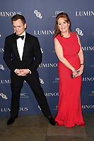 LONDON, UK. October 01, 2019: Taron Eggerton & Sarah Ferguson at the Luminous Gala 2019 at the Roundhouse Camden, London.<br /> Picture: Steve Vas/Featureflash