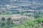Omodos, near Troodos, Scenic, Landscape around village,  Cyprus, Zypern