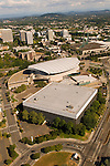 Aerial View of the Rose Quarter in Northeast Portland