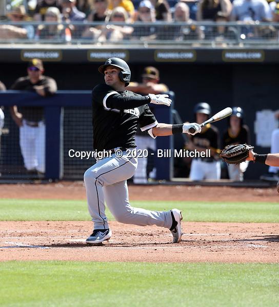 Nick Madrigal - Chicago White Sox 2020 spring training (Bill Mitchell)