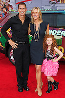"""HOLLYWOOD, LOS ANGELES, CA, USA - MARCH 11: Regan Burns, Beth Littleford, Francesca Capaldi at the World Premiere Of Disney's """"Muppets Most Wanted"""" held at the El Capitan Theatre on March 11, 2014 in Hollywood, Los Angeles, California, United States. (Photo by Xavier Collin/Celebrity Monitor)"""