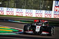 31st October 2020, Imola, Italy; FIA Formula 1 Grand Prix Emilia Romagna, Free Practise sessions;  8 Romain Grosjean FRA, Haas F1 Team
