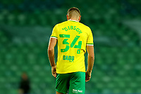 3rd November 2020; Carrow Road, Norwich, Norfolk, England, English Football League Championship Football, Norwich versus Millwall; A dejected Ben Gibson of Norwich City after the 0-0 draw