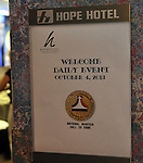 "The Class of 2013 was enshrined in the National Aviation Hall of Fame, during ceremonies at the Hope Hotel on October 4, 2013. This year's class includes C. Alfred ""Chief"" Anderson, Patrick Brady, Robert ""Hoot"" Gibson, and Dwane Wallace."