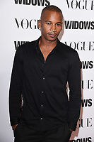 """Eric Underwood<br /> arriving for the """"Widows"""" special screening in association with Vogue at the Tate Modern, London<br /> <br /> ©Ash Knotek  D3457  31/10/2018"""