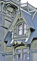 Eureka CA:   Wm. Carson House--detail.   Photo '83.