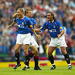 Scottish Cup Final 2002, Peter Lovenkrands snatches the winner against Celtic