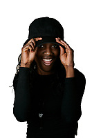 March, 2005, Montreal (Qc) Canada <br /> <br /> Model Released photo of a young black woman<br /> Jeune fille noire <br /> Photo : (c) 2005 Pierre Roussel / Images Distribution