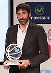 Alex Mumbru during presentation of the Liga Endesa playoff. May 23,2016. (ALTERPHOTOS/Rodrigo Jimenez)