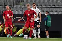 Daniel Waas (Dänemark, Denmark) gegen Christian Guenter (Deutschland Germany) - Innsbruck 02.06.2021: Deutschland vs. Daenemark, Tivoli Stadion Innsbruck