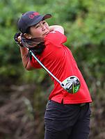 Momoka Kabori, Canterbury. 2020 Women's Interprovincial Golf Championships, Akarana Golf Club, Auckland, New Zealand, Tuesday 1 December 2020. Photo: Simon Watts/www.bwmedia.co.nz