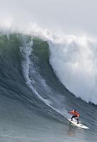 Chris Bertish. Mavericks Surf Contest in Half Moon Bay, California on February 13th, 2010.