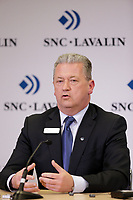 Neil Bruce, President and Chief Executive Officer, SNC-Lavalin<br /> Lawrence Stevenson, chairman of the Board of Directors attend the SNC-Lavalin Group Inc. Annual Meeting of Shareholders , May 5, 2016.<br /> <br /> PHOTO :   Pierre Roussel - Agence Quebec presse