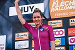 Race favourite Anna Van Der Breggen (NED) Boels Dolmans Cycling Team wins for the 4th consecutive time 2018 La Fleche Wallonne Femmes (UCI WorldTour), Huy, Belgium, 18 April 2018, Photo by Thomas van Bracht / PelotonPhotos.com