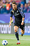 Cristiano Ronaldo of Real Madrid in action during their 2016-17 UEFA Champions League Semifinals 2nd leg match between Atletico de Madrid and Real Madrid at the Estadio Vicente Calderon on 10 May 2017 in Madrid, Spain. Photo by Diego Gonzalez Souto / Power Sport Images
