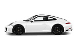 Car driver side profile view of a 2018 Porsche 911 Carrera 2 Door Coupe
