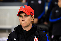 San Jose, CA - Sunday November 12, 2017: Jill Ellis during an International friendly match between the Women's National teams of the United States (USA) and Canada (CAN) at Avaya Stadium.