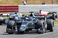16th July 2021; Silverstone Circuit, Silverstone, Northamptonshire, England; F2 British Grand Prix, Free Practice; Jack Aitken in his HWA Racelab Dallara F2 2018