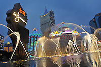 "The Wynn Casino in Macau. Macau is known simply as ""Vegas"" in China. The former Portuguese colony, now a Chinese Special Administrative Region, attracts millions of Chinese gamblers annually and last year earned more gambling dollars than Las Vegas.."