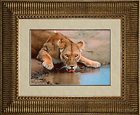 """Image Size:  14"""" x 20""""<br /> Finished Frame Dimensions: 29"""" x 35""""<br /> Quantity Available: 1"""