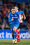 Juan Torres Ruiz, Cala, of Getafe CF in action during the La Liga 2017-18 match between Getafe CF and Athletic Club at Coliseum Alfonso Perez on 19 January 2018 in Madrid, Spain. Photo by Diego Gonzalez / Power Sport Images