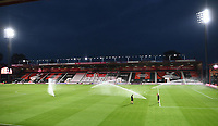 15th September 2020; Vitality Stadium, Bournemouth, Dorset, England; English Football League Cup, Carabao Cup Football, Bournemouth Athletic versus Crystal Palace; last minute adjustments to the pitch before kick off