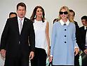 Ivanka Trump arrives at Narita International Airport in Japan