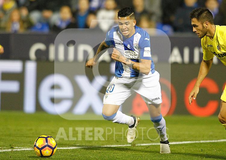 CD Leganes' Luciano Neves during La Liga match. December 3,2016. (ALTERPHOTOS/Acero)