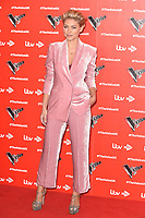 """Emma Willis<br /> at the launch photocall for the 2019 series of """"The Voice"""" London<br /> <br /> ©Ash Knotek  D3468  03/01/2019"""