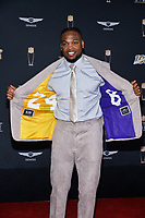 MIAMI, FL - FEBRUARY 1: Derrick Henry attends the 2020 NFL Honors at the Ziff Ballet Opera House during Super Bowl LIV week on February 1, 2020 in Miami, Florida. (Photo by Anthony Behar/Fox Sports/PictureGroup)