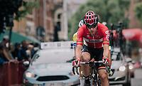 Jurgen Roelandts (BEL/Lotto-Soudal) leading the breakaway group<br /> <br /> 2017 National Championships Belgium - Elite Men - Road Race (NC)<br /> 1 Day Race: Antwerpen > Antwerpen (233km)