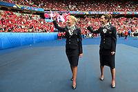 Hotesses Turkish Airlines <br /> Paris 12-06-2016 Parc des Princes Football Euro2016 Turkey - Croatia / Turchia - Croazia Group Stage Group D. Foto Panoramic / Insidefoto