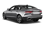 Car pictures of rear three quarter view of a 2020 Jaguar XE S 4 Door Sedan angular rear