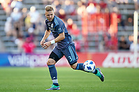 Bridgeview, IL - Saturday June 30, 2018: The Chicago Fire played the New York City FC at Toyota Park in a Major League Soccer (MLS) match.  The Chicago Fire defeated the New York City FC by score of 3-2.