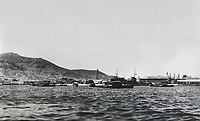 "SPAIN. Vigo. Spain. Second Republic (1931-1936). Naval base of Ríos, Vigo. Two seaplane ""Dornier"" (1st July 1934). SPAIN. Sala"
