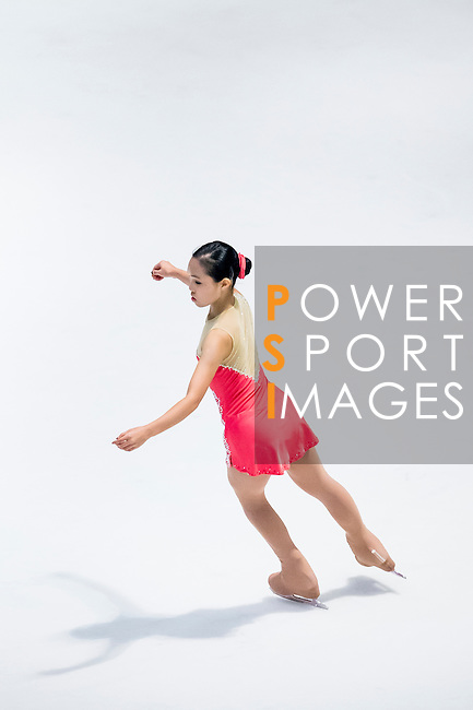 Tzu Ting Wei competes during the Asian Junior Figure Skating Challenge 2015 on October 07, 2015 at the Festival Walk Mall in Hong Kong, China. Photo by Aitor Alcalde/ Power Sport Images