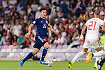 Yoshida Maya of Japan (L) in action during the AFC Asian Cup UAE 2019 Semi Finals match between I.R. Iran (IRN) and Japan (JPN) at Hazza Bin Zayed Stadium  on 28 January 2019 in Al Alin, United Arab Emirates. Photo by Marcio Rodrigo Machado / Power Sport Images