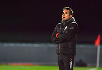 headcoach Angelo Gaytant of Zulte-Waregem pictured during a female soccer game between RSC Anderlecht Dames and SV Zulte Waregem on the 10 th matchday of the 2020 - 2021 season of Belgian Womens Super League , friday 18 th of December 2020  in Tubize , Belgium . PHOTO SPORTPIX.BE | SPP | DAVID CATRY