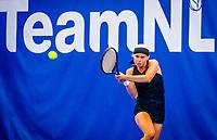 Amstelveen, Netherlands, 17  December, 2020, National Tennis Center, NTC, NK Indoor, National  Indoor Tennis Championships,   :  Eva Vedder (NED) <br /> Photo: Henk Koster/tennisimages.com