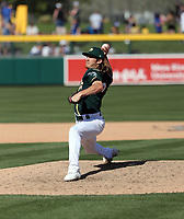 Daniel Gossett - Oakland Athletics 2020 spring training (Bill Mitchell)