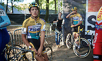 Tom Meeusen (BEL/Telenet-Fidea) at the start<br /> <br /> GP Neerpelt 2014