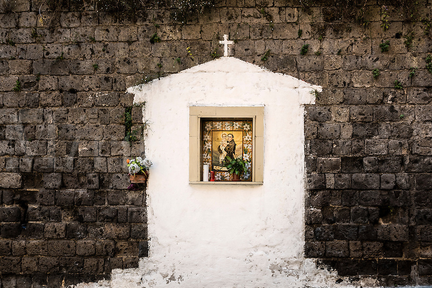 Roadside shrine, Sorrento, Italy
