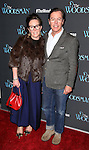 Kate Spade and Andy Spade attend the Off-Broadway Opening Night Performance of 'The Woodsman' at The New World Stages on February 8, 2016 in New York City.