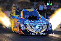 May 13, 2011; Commerce, GA, USA: NHRA funny car driver Jim Head during qualifying for the Southern Nationals at Atlanta Dragway. Mandatory Credit: Mark J. Rebilas-