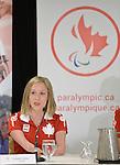Elisabeth Walker-Young, Toronto 2015.<br /> Highlights from Canada's Opening Ceremonies flag bearer annoucement // Faits saillants de l'annonce du porte-drapeau des cérémonies d'ouverture du Canada. 05/08/2015.