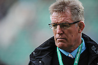 John Mckee, Fiji Head Coach, ahead of the Old Mutual Wealth Series match between England and Fiji at Twickenham Stadium on Saturday 19th November 2016 (Photo by Rob Munro)