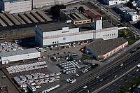 aerial photograph U-Haul self storage San Francisco, California
