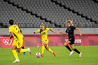 21st July 2021. Tokyo, Japan;  Tameka Yallop 13 from Australia during the Australia and New Zealand football match at the 2021 Tokyo Olympic Games held in 2021 in Tokyo, Japan.