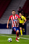 Jorge Resurreccion Merodio, Koke, of Atletico de Madrid in action during the La Liga 2017-18 match between Atletico de Madrid and CD Leganes at Wanda Metropolitano on February 28 2018 in Madrid, Spain. Photo by Diego Souto / Power Sport Images