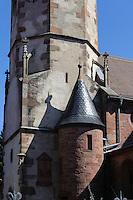 katolische Pfarrkirche St. Cyriakus in  Niedernberg am Main, Bayern, Deutschland